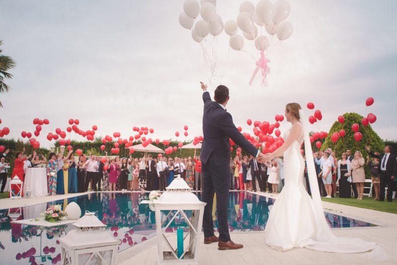 พิธีในงานแต่งงาน